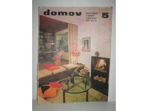 Časopis Domov 5/1974