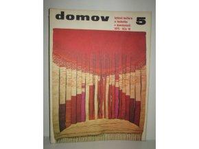 Časopis Domov 5/1975