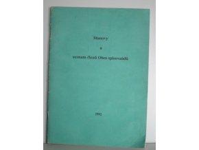Stanovy a seznam členů Obce spisovatelů : (stav k 1.10.1992)