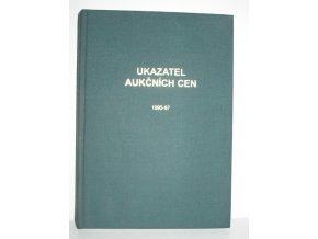 Ukazatel aukčních cen : systematický souhrn výsledků knižních aukcí v ČR 1995-1997