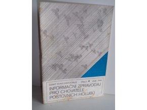 Informační zpravodaj pro chovatele poštovních holubů:čís.4