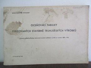 Ocenovací tabulky typizovaných stavebně truhlářských výrobků