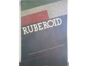 Ruberoid,příručka pro projektantystavitele a pokrývače