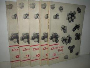 Chemické listy: ročník 60, čís.8-12