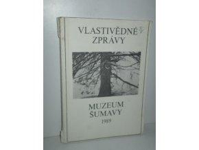 Vlastivědné zprávy Muzea Šumavy I.