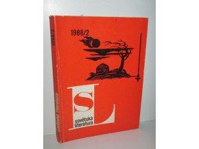 čas.Sovětská literatura 1988/2