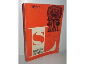 čas.Sovětská literatura 1989/7
