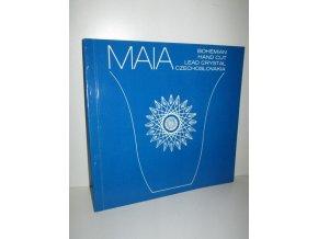 MAIA Bohemian Hand Cut Lead Crystal Czechoslovakia