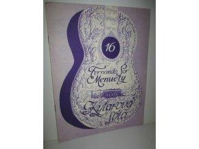 kytarová sóla 16 : Fernando Sor Menuety