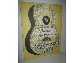 kytarová sóla 38 : Fernando Sor Variace na Mozartoo téma op.9