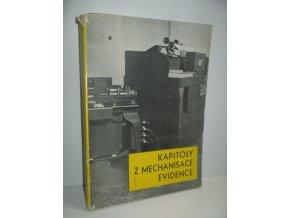 Kapitoly z mechanisace evidence : Sborník přednášek
