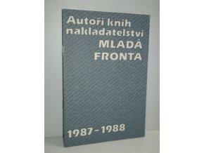 Autoři knih nakladatelství Mladá fronta. 1987-1988