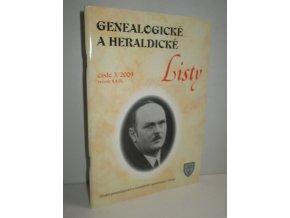 Genealogické a heraldické listy : č.3 ročník XXIX.