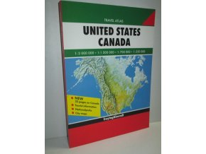 United States Canada : Travel Atlas