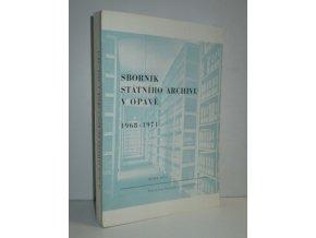 Sborník Státního archívu v Opavě : 1968-1971. 2. sv.