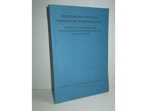Mezinárodní pravidla zoologické nomenklatury přijatá 15. Mezinárodním zoologickým kongresem v Londýně v červenci 1958