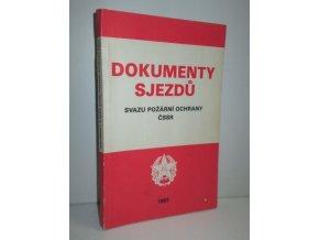 Dokumenty sjezdů Svazu požární ochrany