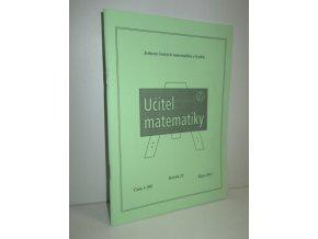 časopis Učitel matematiky čís.1 (89) ročník 22