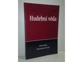 Hudební věda,Musicology,Musikwissenschaft: ročník XLIII čís.3