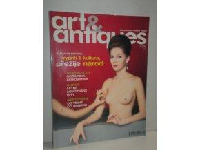 časopis Art & Antiques:Váš průvodce světem uměním čís.září