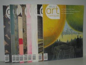 časopis Art + Antiques:Umění žít s uměním -chybí čís.únor,prosinec