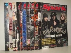 Spark - Rockový magazín, ročník 20: čís.1-12