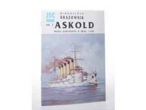 Askold model kartonowy w skali 1:400