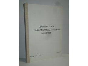 Optimalizace databázového systému Informix