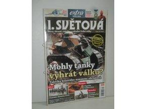 První světová válka čís.IV-časopis Extra válka (Mohly tanky vyhrát válku?)