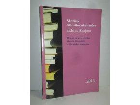Sborník Státního okresního archivu ve Znojmě 2014