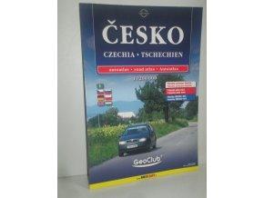 Autoatlas Česko : podrobná automapa, rejstřík, průjezdní plány měst, památky UNESCO, GPS = Tschechien = Czechia
