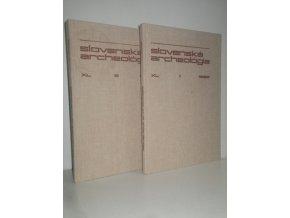 slovenska archeologia XL 1-2 (2 sv.)