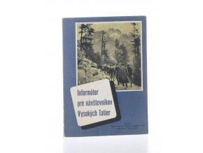 Informátor pre návštěvníkov Vysokách Tatier + mapa