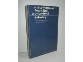 Matematické, fyzikální a chemické tabulky pro střední školy (1984)