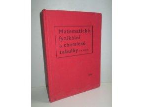 Matematické, fyzikální a chemické tabulky pro 7. -9.ročník (1966)