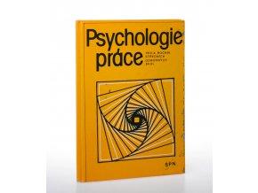 Psychologie práce pro 4. ročník středních odborných škol