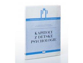 Kapitoly z dětské psychologie