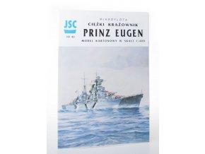 Mikroflota ciezki krazownik Princ Eugen: model kartonowy w skali 1:400