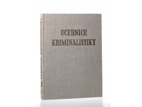 Učebnice kriminalistiky Díl 3. Vyšetřování železničních, leteckých a plavebních dopravních nehod - sv.2. (1966)