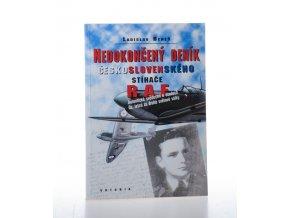 Nedokončený deník československého stíhače RAF