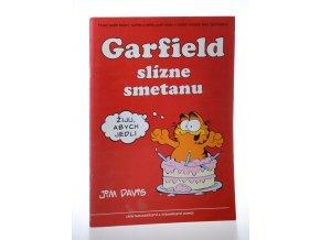 Garfield slízne smetanu
