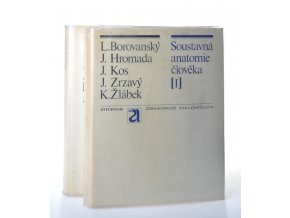 Soustavná anatomie člověka (2 sv.) (1972-1973)