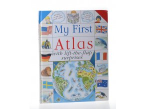 My first atlas with lift-the-flap surprises