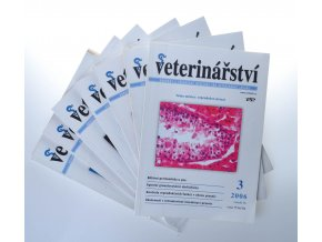 Veterinářství : odborný a stavovský měsíčník pro veterinární lékaře (2006)