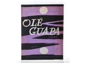 Olé Guapa : tango
