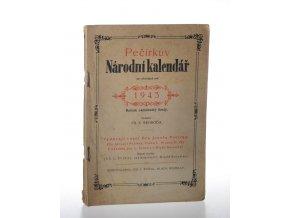 Pečírkův Národní kalendář na obyčejný rok 1943