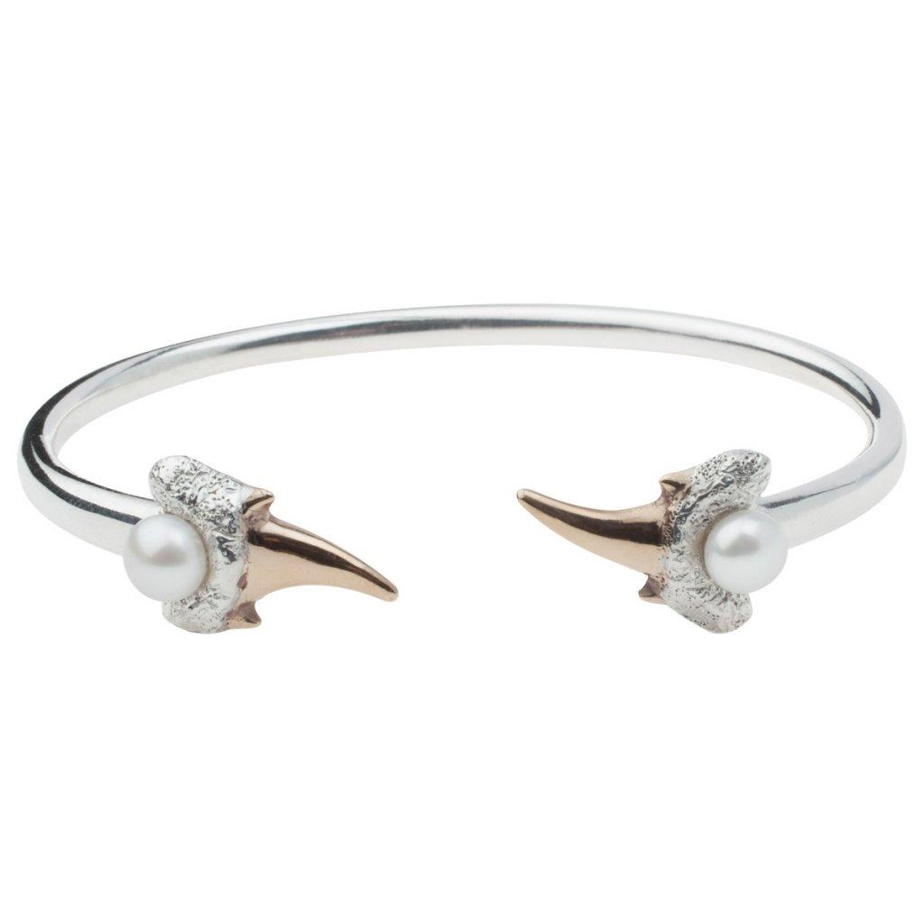 Zambezi bracelet-silver/gold
