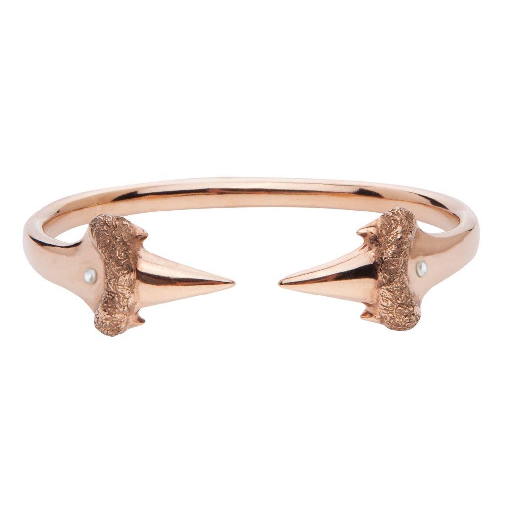 Blacktip bracelet-gold