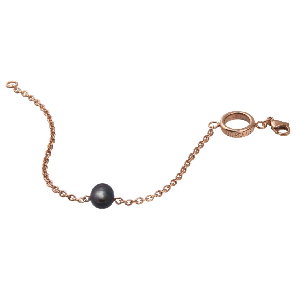 Pearl bracelet - gold-plated silver