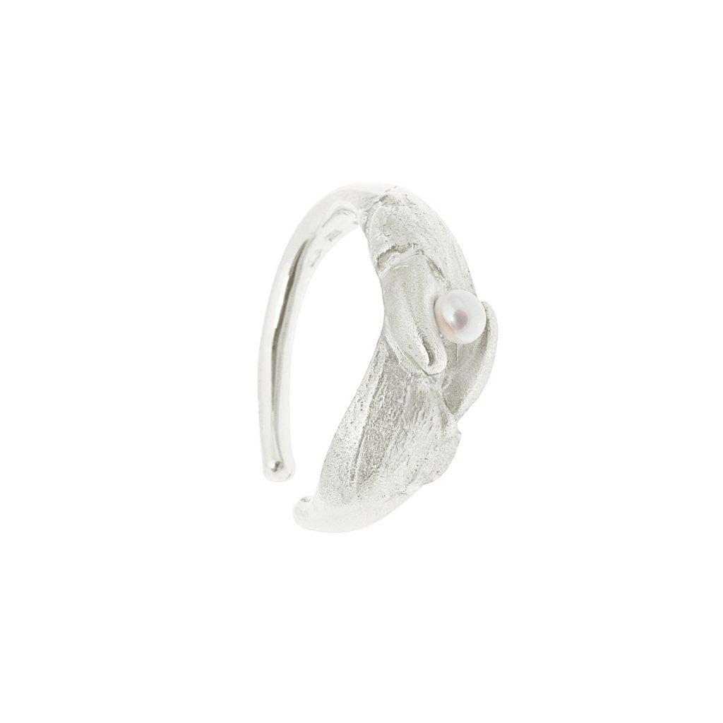 Claw earcuff - silver